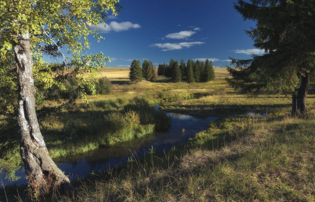 "фото ""Тихая речка"" метки: пейзаж,"
