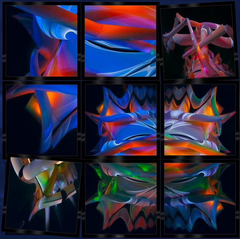 """фото """"Трубы - отражения"""" метки: абстракция, натюрморт,"""