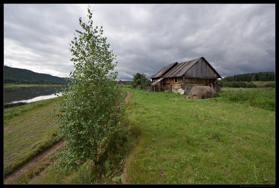 """фото """"Сельский этюд / 0176_0070"""" метки: путешествия, пейзаж, лето, село"""