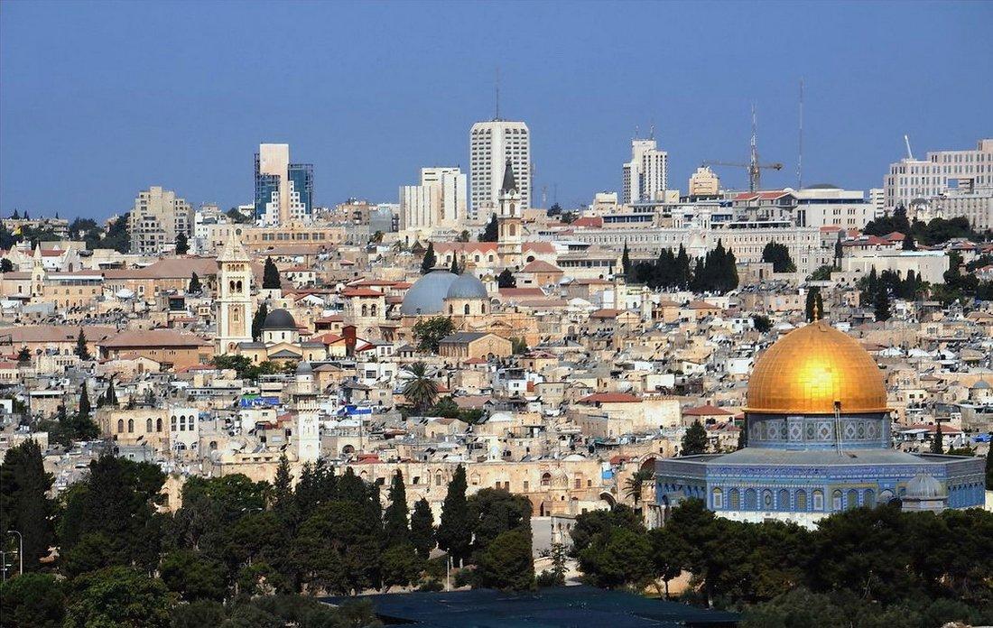 """фото """"Вид на Храмы Иерусалима с Масличной горы"""" метки: город,"""
