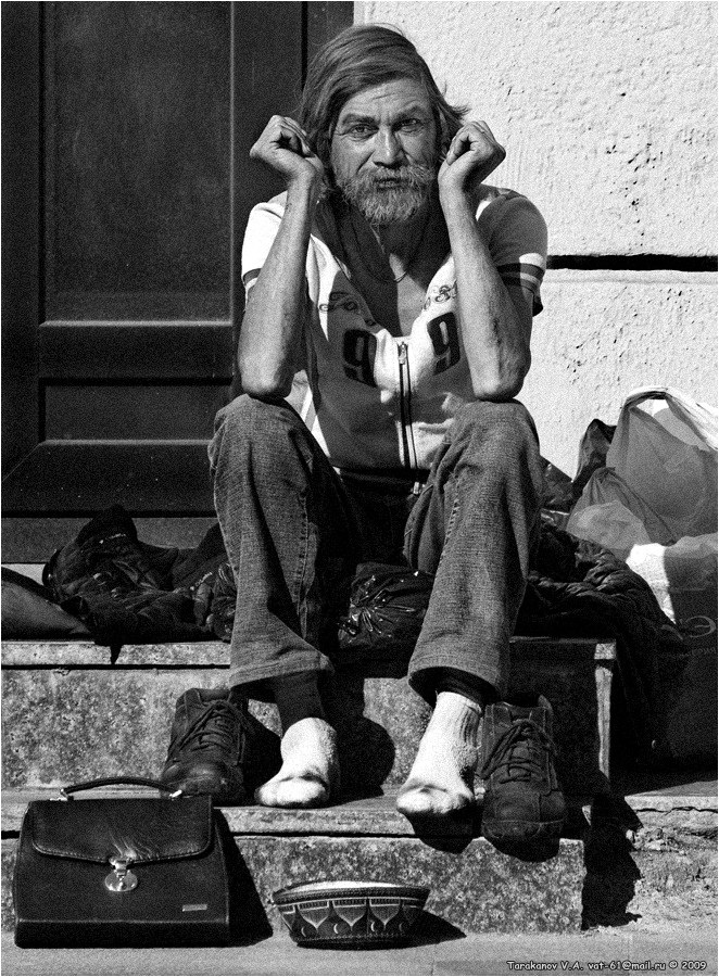 """фото """"ПРО ЕГО ЖИЗНЬ..."""" метки: портрет, жанр, мужчина"""
