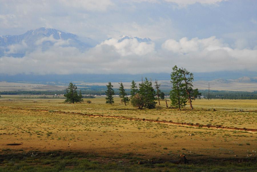 """фото """"Курайская степь"""" метки: пейзаж, горы"""
