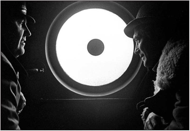 """фото """"Беседы в вертолете"""" метки: жанр, черно-белые,"""