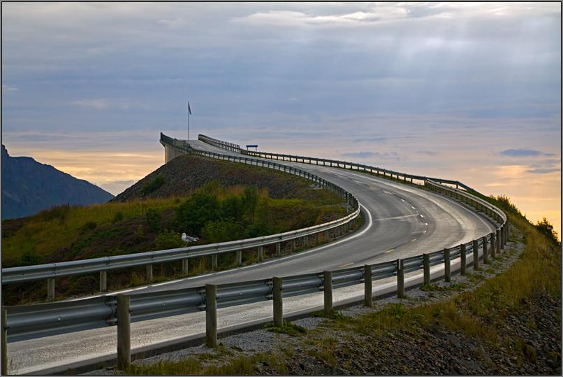 """фото """"Atlantic Road"""" метки: путешествия, архитектура, пейзаж, Европа"""