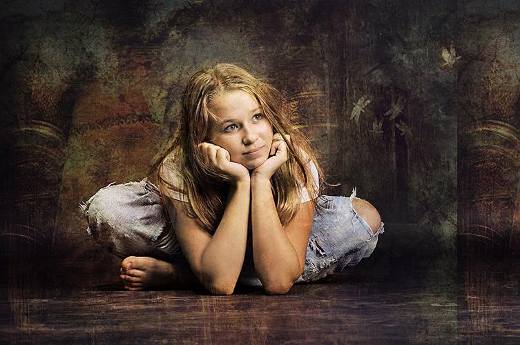 "фото ""*"" метки: портрет, digital art, дети"