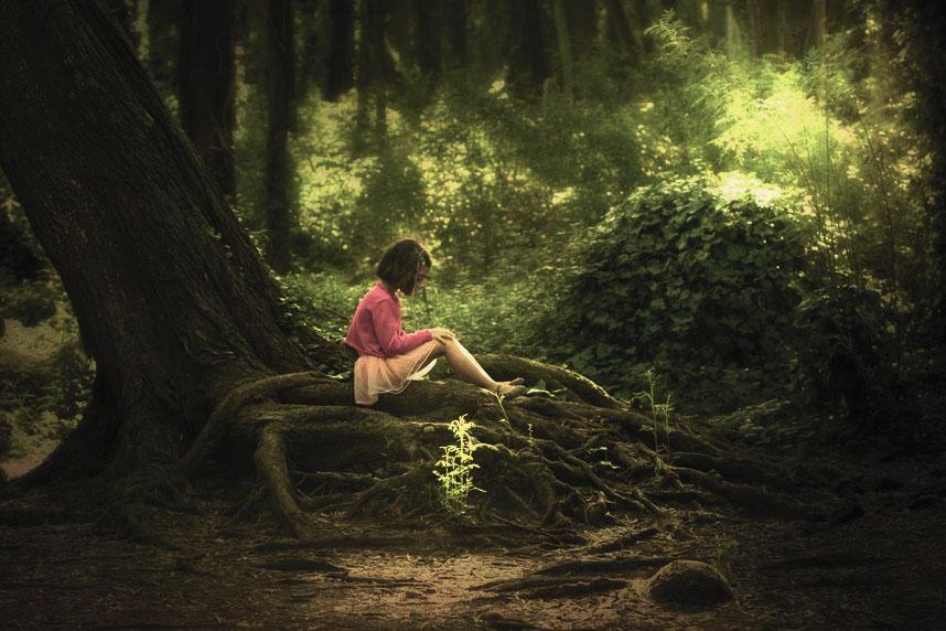"фото ""To my dear sweet lovely girl, Guga"" метки: пейзаж, портрет, дети, лес"