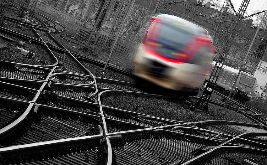 """фото """"Train to Frankfurt"""" метки: путешествия, Европа"""