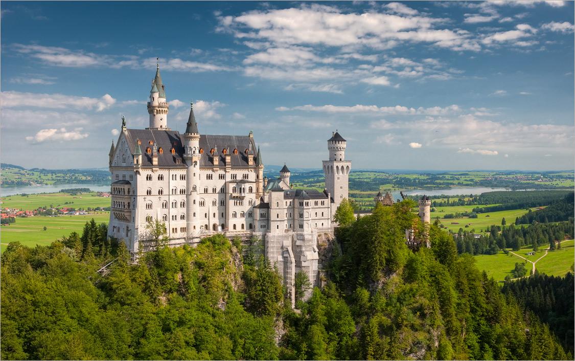 """фото """"Neuschwanstein"""" метки: пейзаж, архитектура,"""