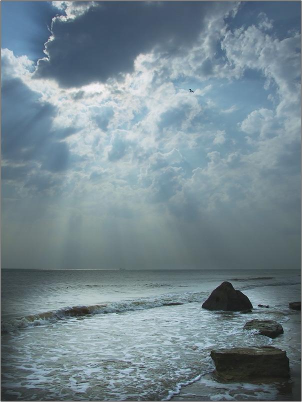 "фото ""let there be light"" метки: пейзаж, вода, облака"