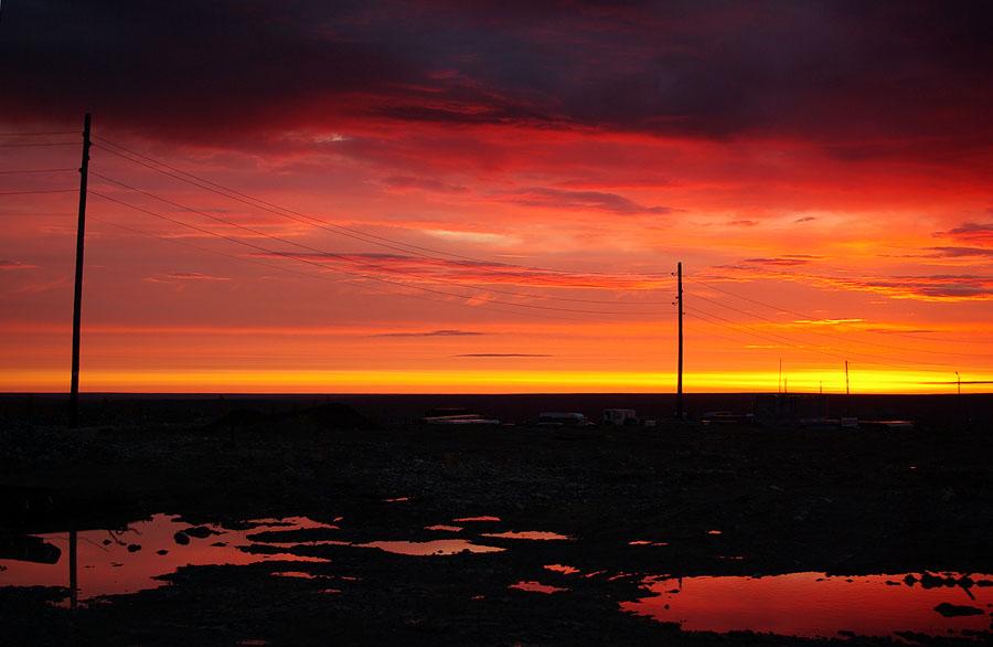 "фото ""Светает"" метки: пейзаж, закат"