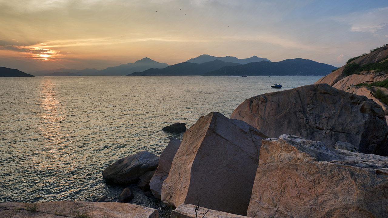 "фото ""Закат на Ченг Чау"" метки: пейзаж, путешествия, Азия"