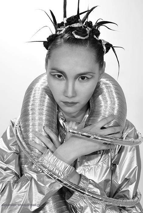 """фото """"Индастриал"""" метки: портрет, женщина"""