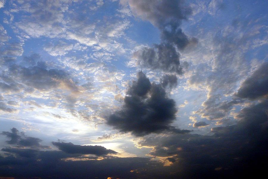 """фото """"The land of clouds / Земля облаков"""" метки: пейзаж, закат, облака"""