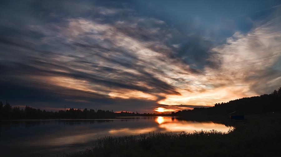 "фото ""На закате лета.."" метки: пейзаж, закат"