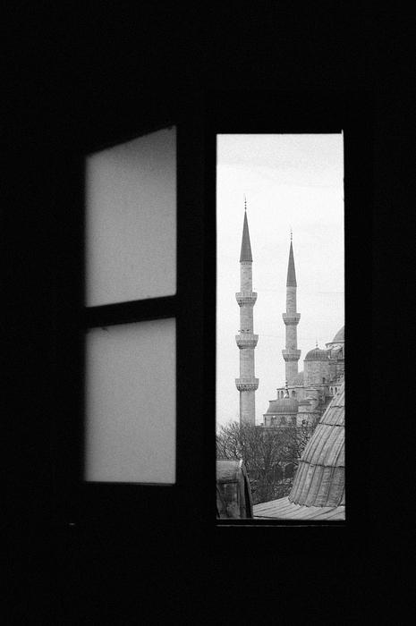 "фото ""SYMBOLS - The Blue Mosque"" метки: архитектура, путешествия, пейзаж, Европа"