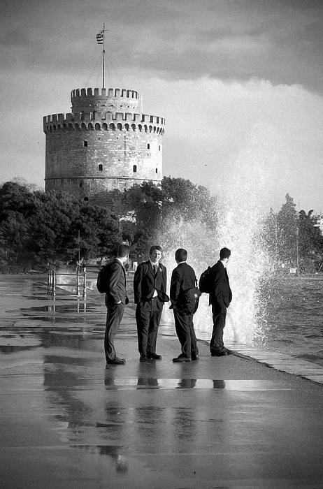 "фото ""SYMBOLS - The White Tower"" метки: архитектура, путешествия, пейзаж, Европа"