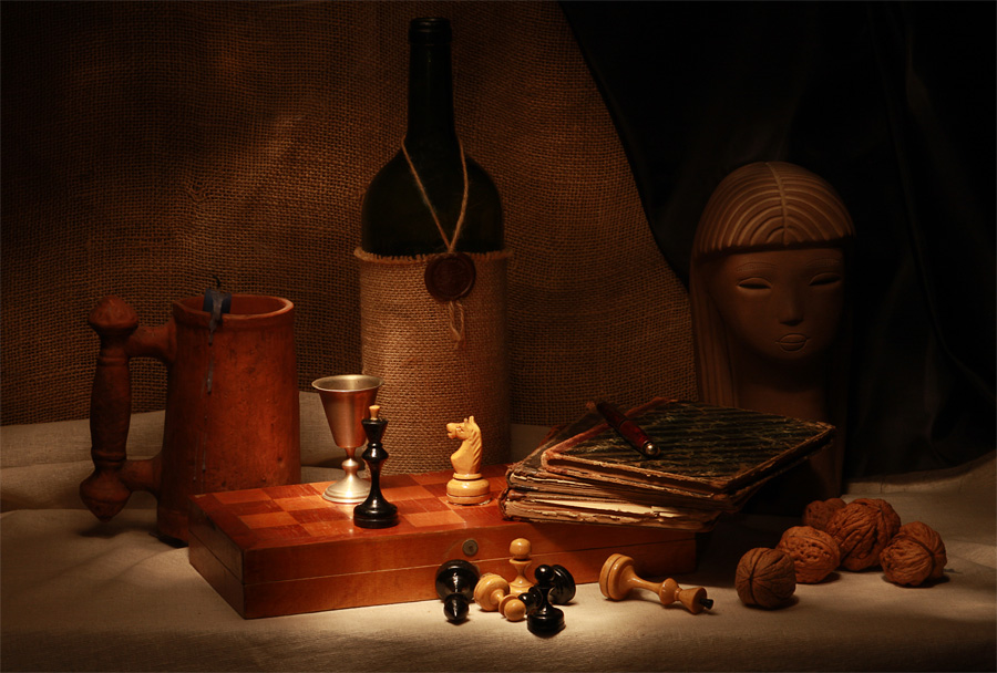 "фото ""Шахматы"" метки: натюрморт,"