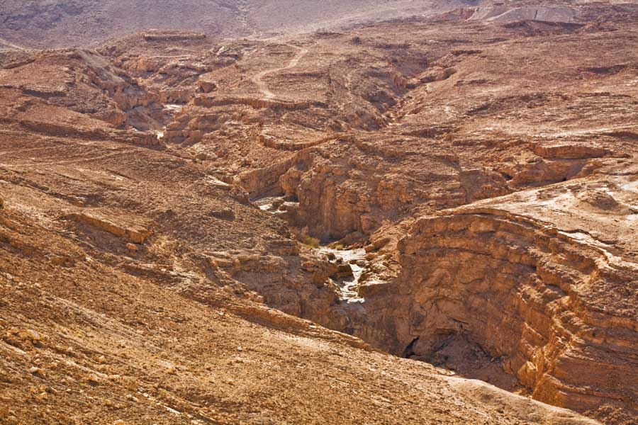 """фото """"Иудейские горы. Сухое русло реки."""" метки: ,"""