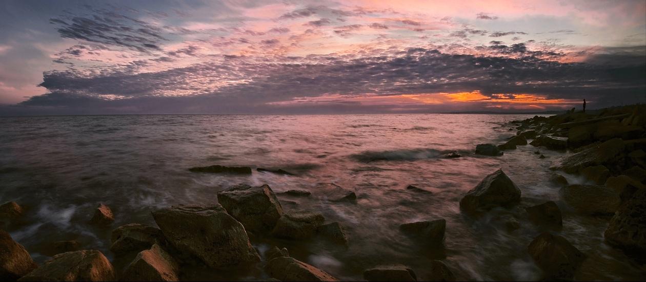"""фото """"В осеннем отблеске заката"""" метки: пейзаж, панорама,"""