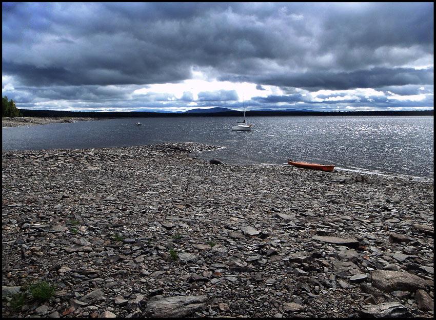 "фото ""Озеро Чезункук, штат Мэн"" метки: пейзаж, вода"