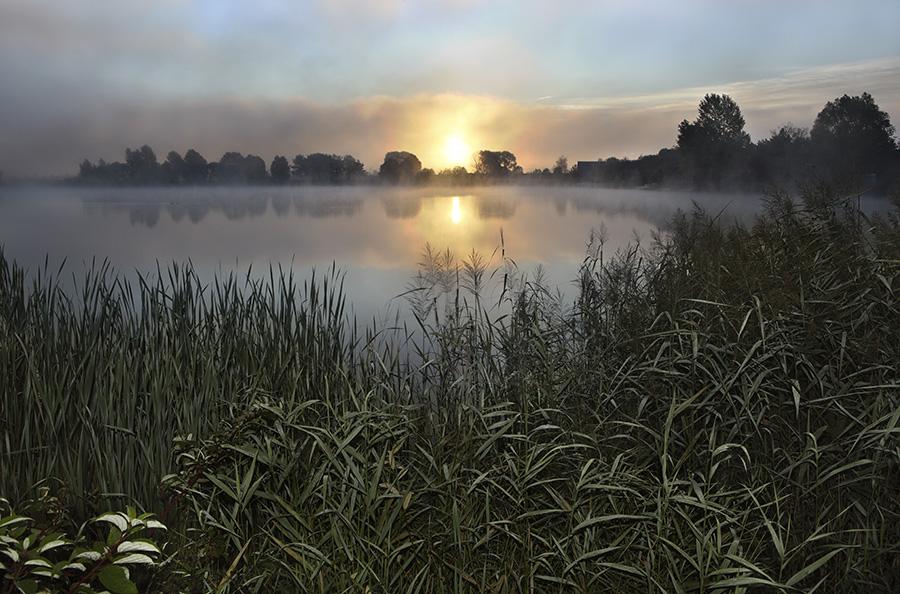 """фото """"Зорька"""" метки: пейзаж, вода, закат"""