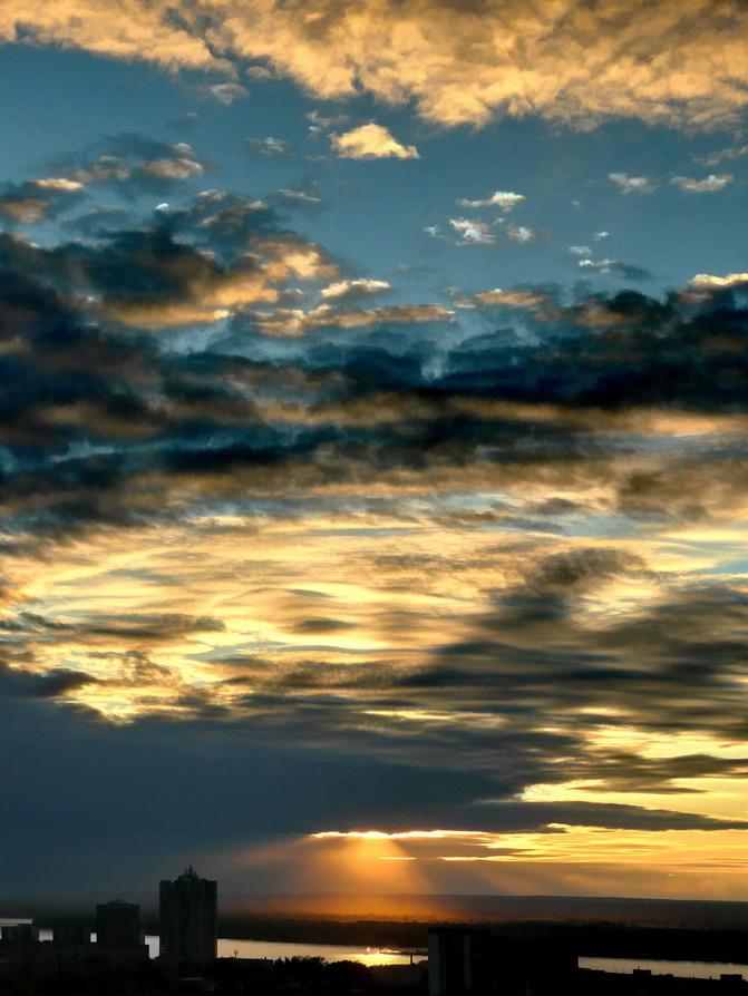 """фото """"Прекрасные небеса"""" метки: пейзаж, закат"""