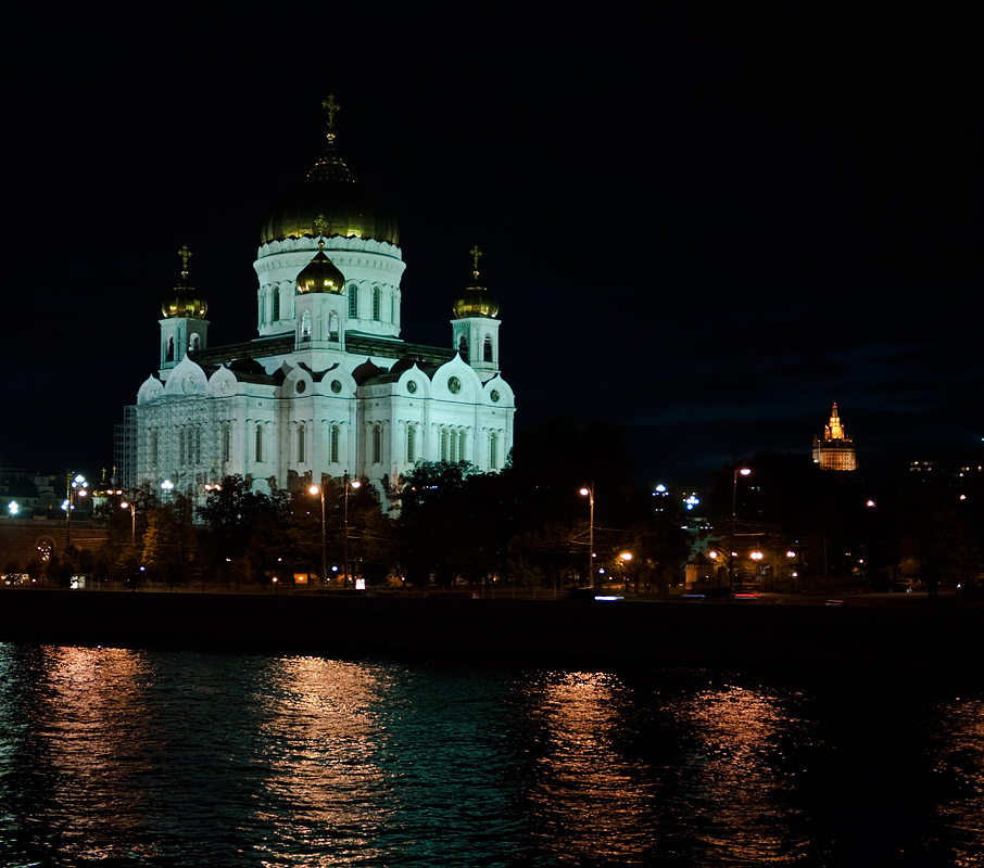 "фото ""Московский вечер"" метки: архитектура, город, пейзаж,"