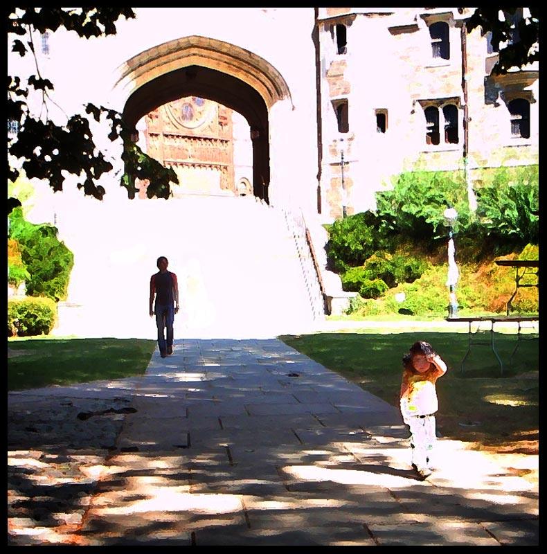 """фото """"Прогулка по Принстону"""" метки: digital art,"""