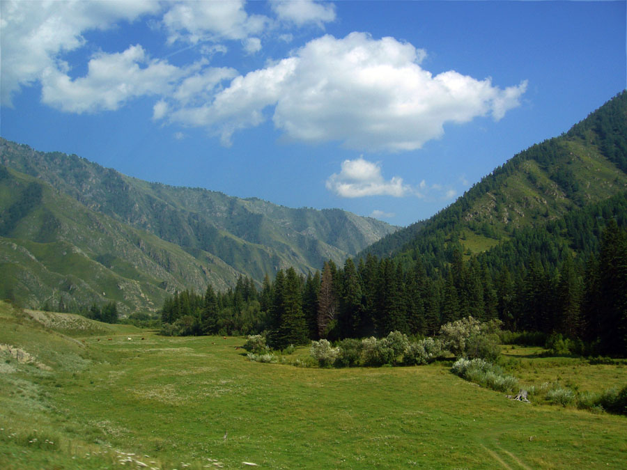 """фото """"Обыденный алтайский пейзаж"""" метки: пейзаж, горы"""