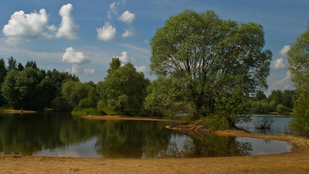 """фото """"Разлив"""" метки: пейзаж, лето"""