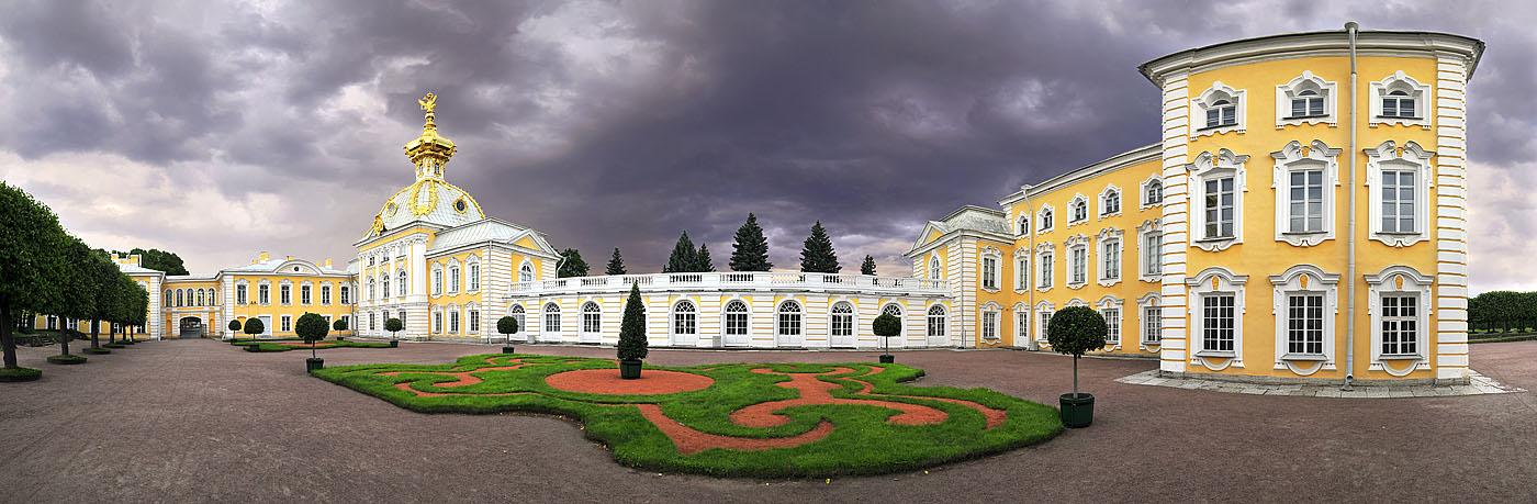 """фото """"из серии """"Петергофский Версаль"""""""" метки: архитектура, панорама, пейзаж,"""