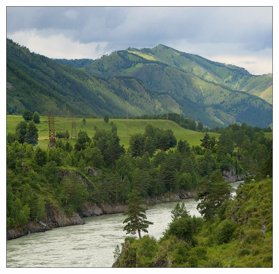 """фото """"Горный пейзаж"""" метки: пейзаж, горы, лес"""