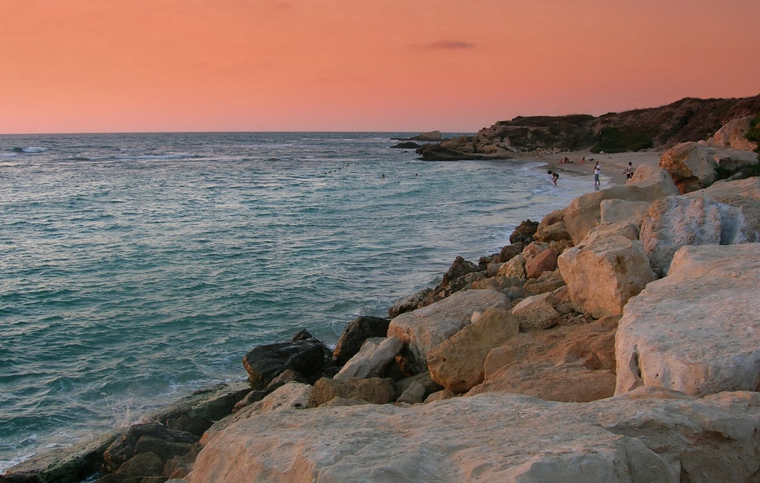 """фото """"Розовый вечер"""" метки: пейзаж, вода"""