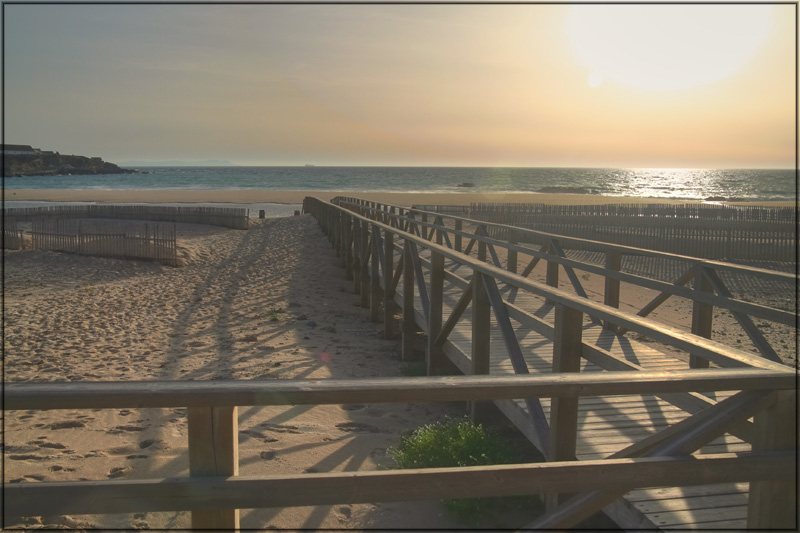 """фото """"Tarifa sunset"""" метки: пейзаж, закат"""