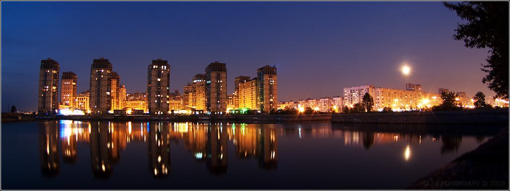 "фото ""*"" метки: пейзаж, архитектура, ночь"