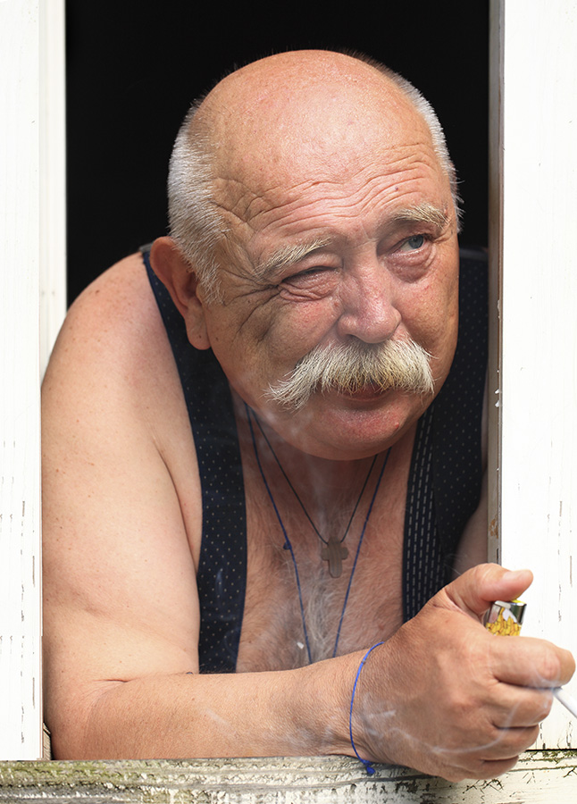 "фото ""Сосед"" метки: жанр, портрет, мужчина"