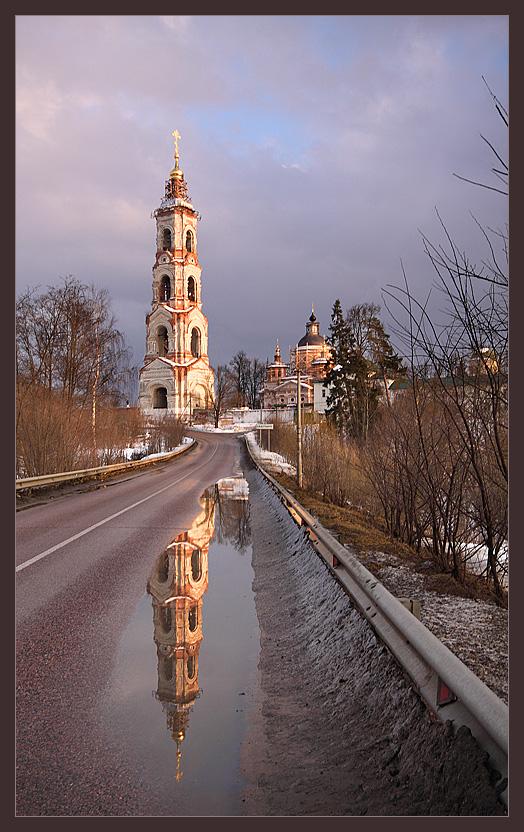 """фото """"Дорога в """"Берлюки"""""""" метки: пейзаж, архитектура, весна"""