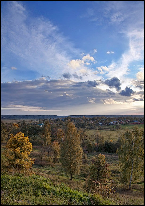 "фото ""Осень"" метки: архитектура, пейзаж, осень"