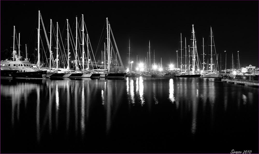 "фото ""Вечером в порту"" метки: пейзаж,"
