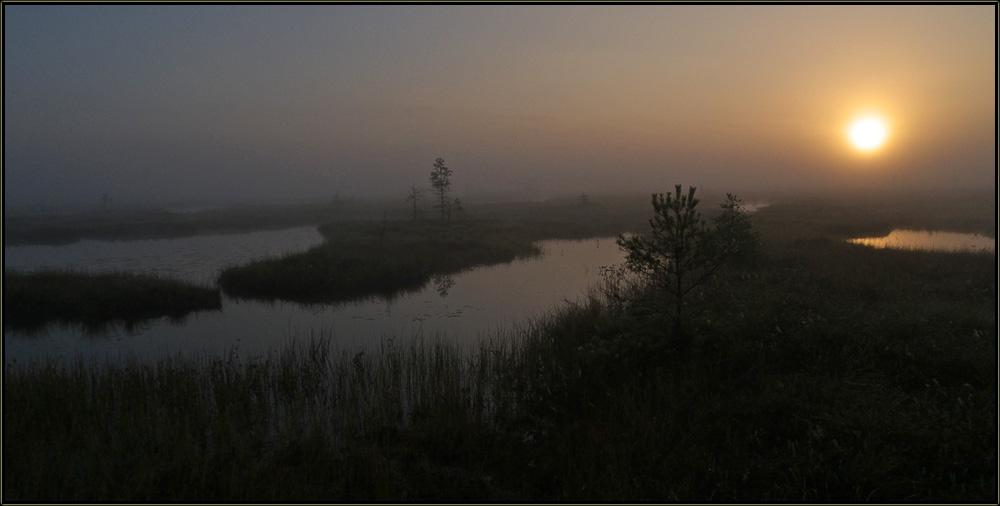 """фото """"Атмосфера."""" метки: пейзаж, закат"""