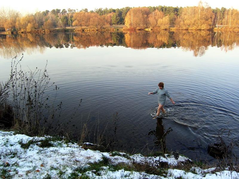 """фото """"Между осенью и зимой"""" метки: пейзаж, вода"""