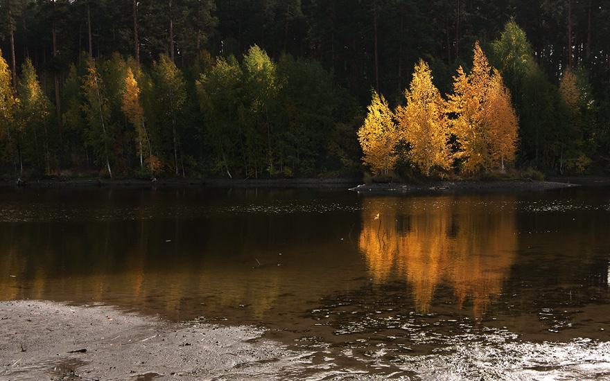 """фото """"Золотой остров.."""" метки: пейзаж, вода"""