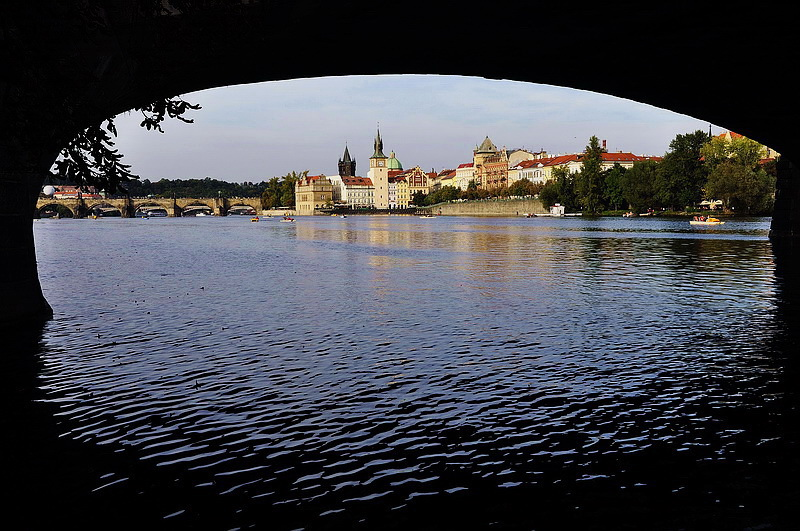 "фото ""Прага а река Влтава"" метки: архитектура, город, пейзаж,"