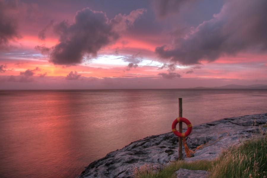 "фото ""Stillness"" метки: пейзаж, вода, закат"