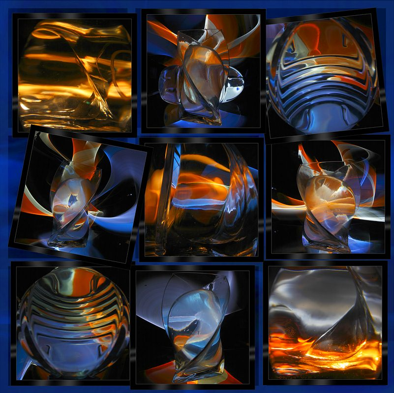 "фото ""Стекло и шары"" метки: натюрморт, абстракция,"