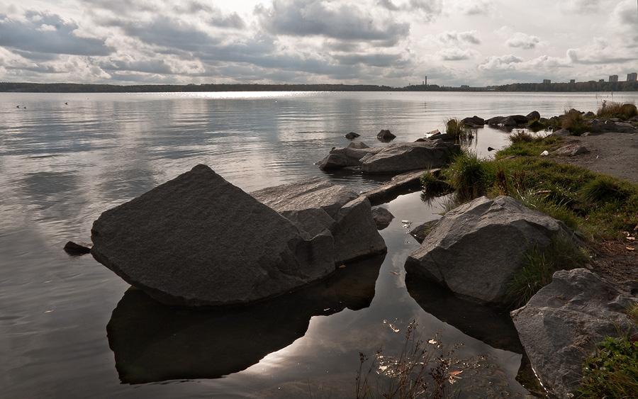"""фото """"Осколки большого города.."""" метки: пейзаж, вода"""