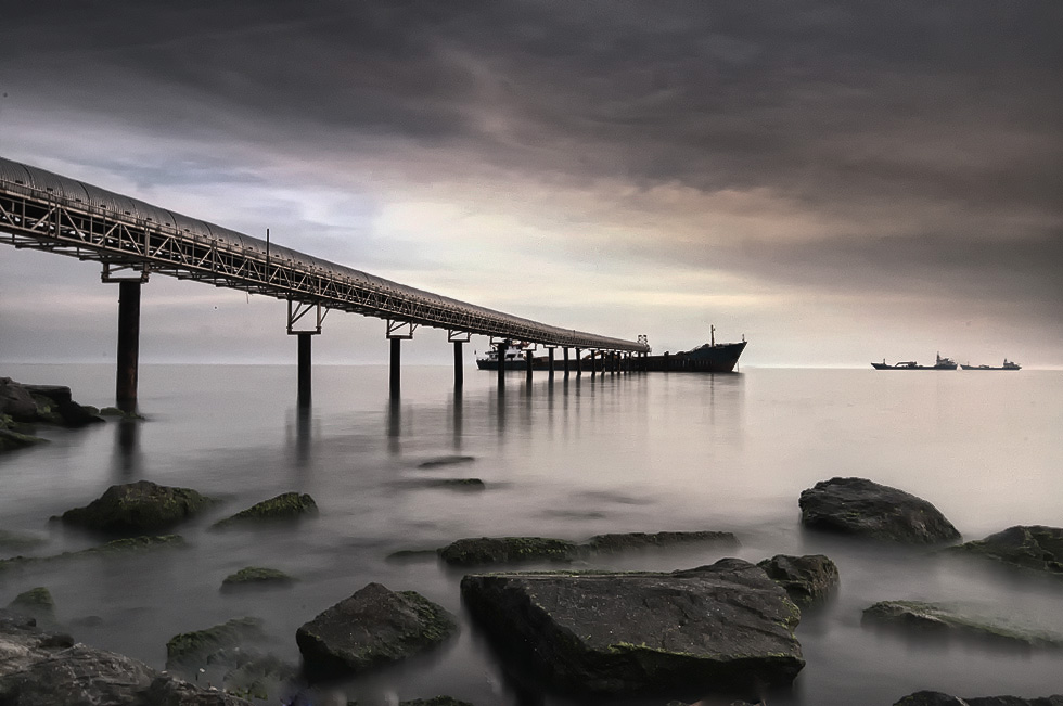 """фото """"another times"""" метки: пейзаж, вода, закат"""