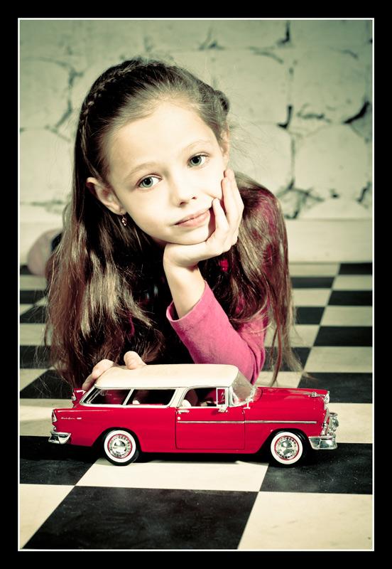 """фото """"Мечты о красной машинке"""" метки: ,"""