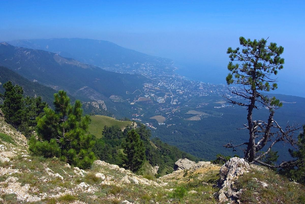 """фото """"С высоты 1234 м"""" метки: пейзаж, горы, лето"""
