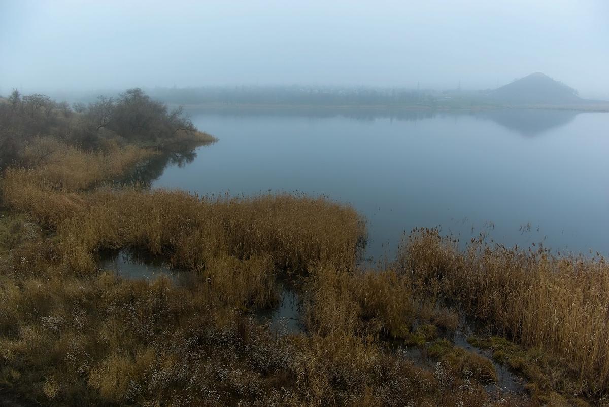 """фото """"Декабрьский туман"""" метки: пейзаж, осень"""